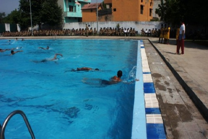 Sainik School-Swimming Competition