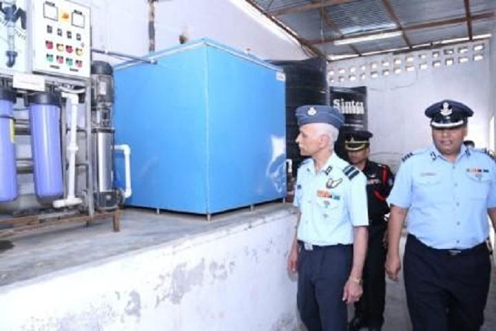Sainik School-Water Plant