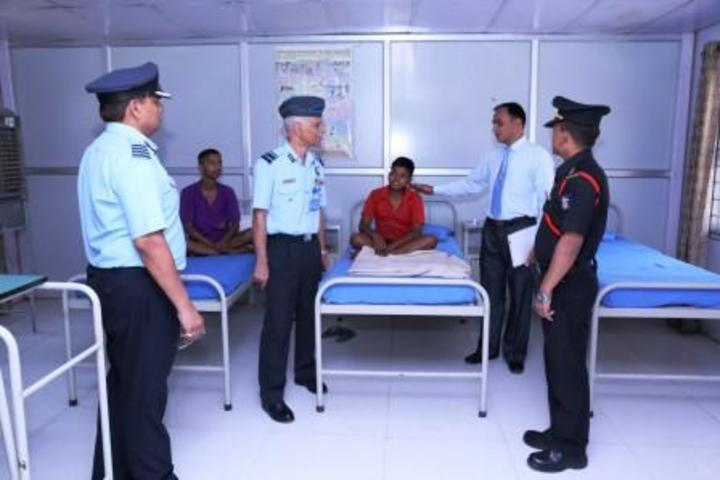 Sainik School-Medical Room