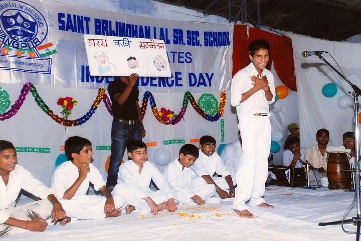 Saint Brijmohan Lal Senior Secondary School-Skit