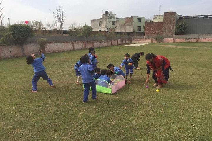 Saint Soldier M R Public School-Ball Pool Activity