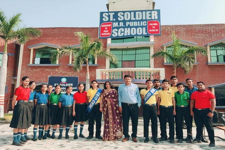 Saint Soldier M R Public School-Investiture Ceremony