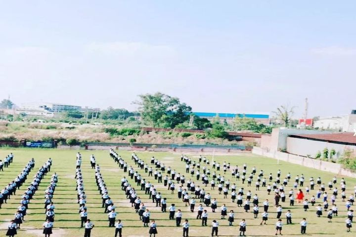 Saint Soldier M R Public School-Morning Assembly