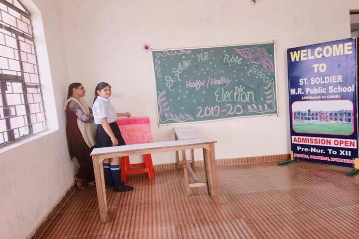 Saint Soldier M R Public School-School Election