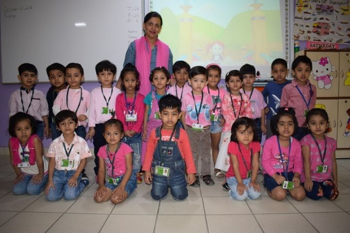 Salwan Public School-Pink Color Day Celebrations