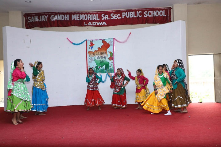 Sanjay Gandhi Memorial Public Senior Secondary School-Haryana Day Celebrations