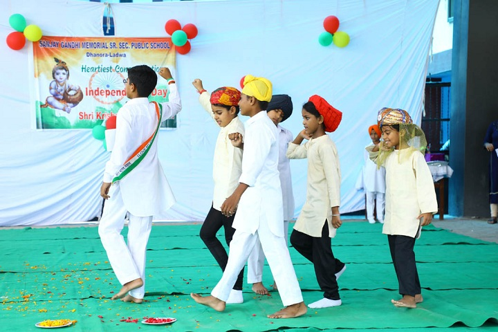 Sanjay Gandhi Memorial Public Senior Secondary School-Independence Day