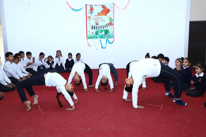 Sanjay Gandhi Memorial Public Senior Secondary School-Yoga Day