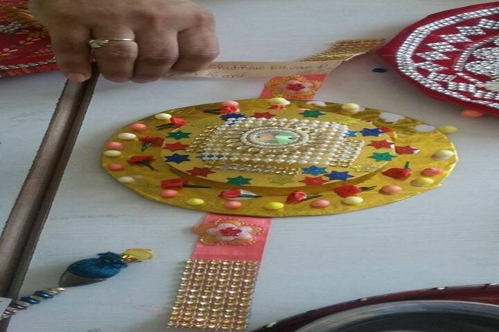 Sanskar International School-Rakhi Making Competition