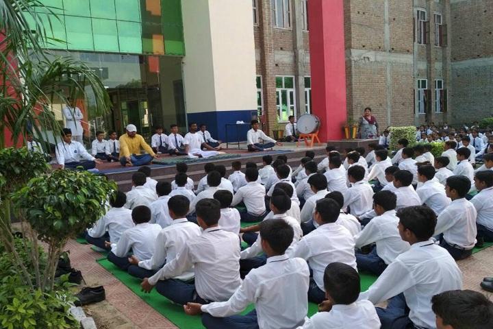 Sanskar International School-Yoga Day