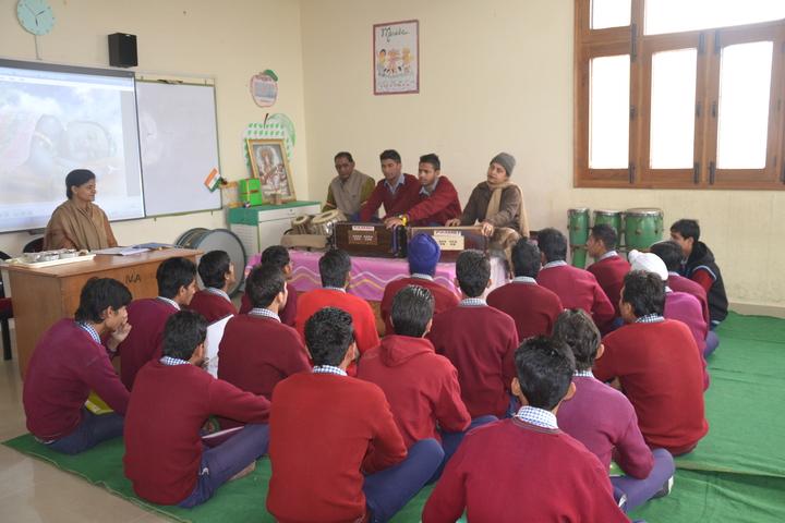Sant Nikka Singh Public School-Music Activity