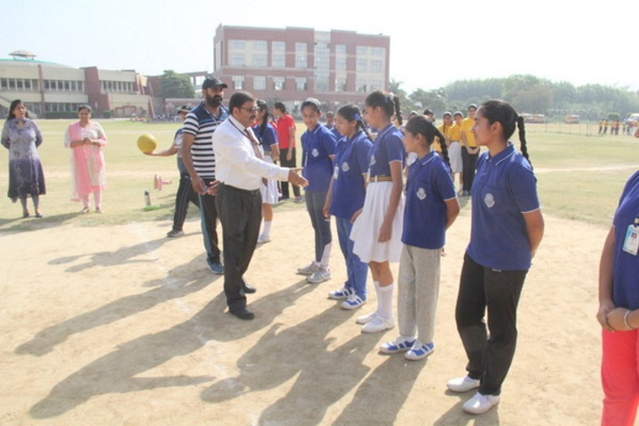 Sant Nischal Singh Public School-Inter House Matches 2017
