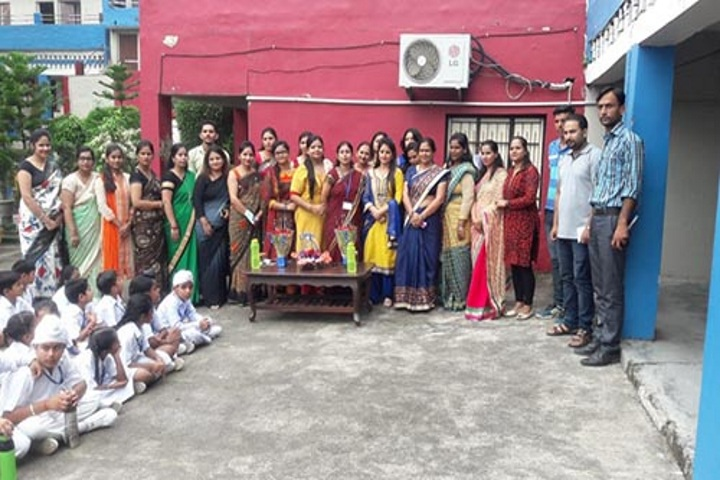 Sapient Senior Secondary Public School-Teachers day celevrations