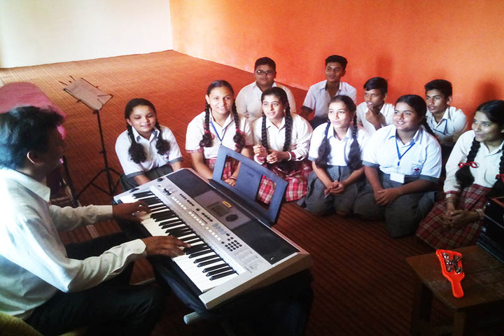 Sapient Senior Secondary Public School-Music Room