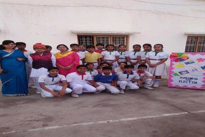 Saraswati High School-Awareness On Elections
