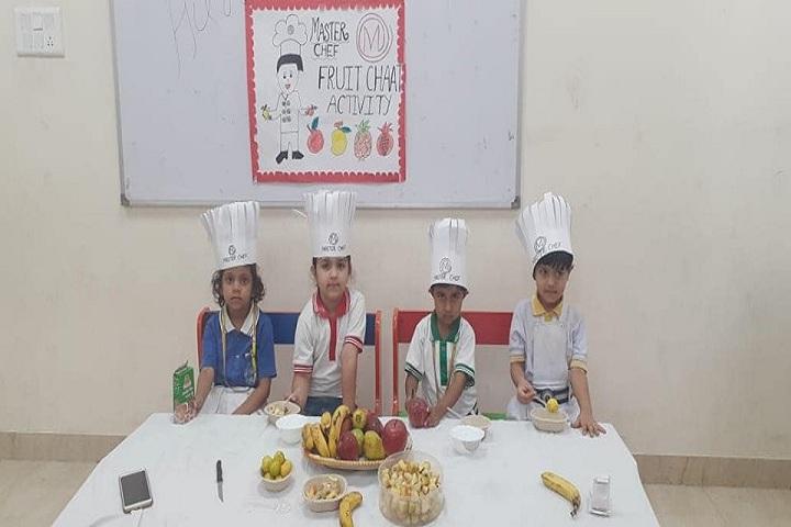 Saraswati High School-Cookery Activity