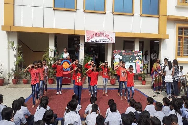 Saraswati High School-Dancing Activity