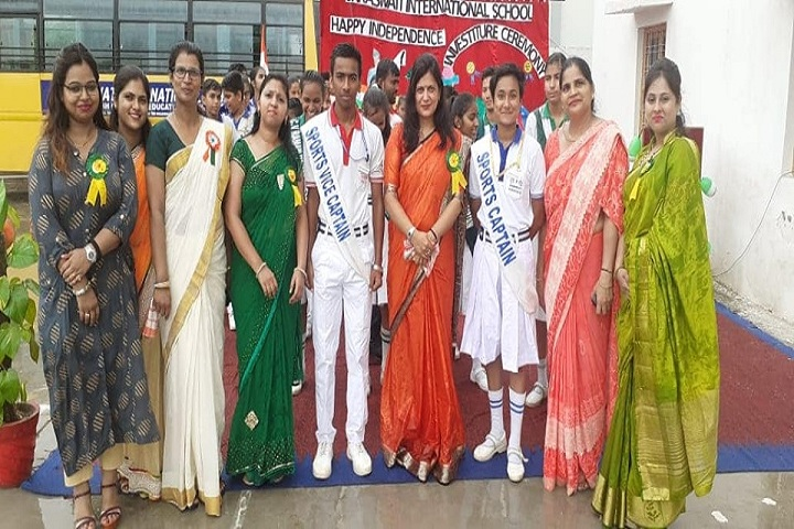 Saraswati High School-Investiture Ceremony