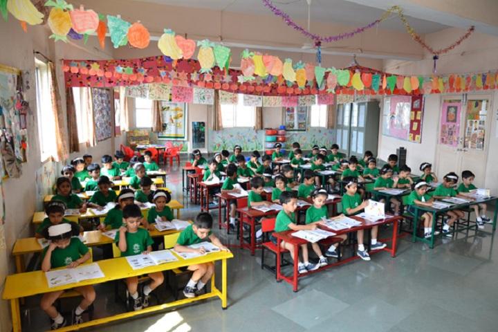 Saraswati High School-Classroom view