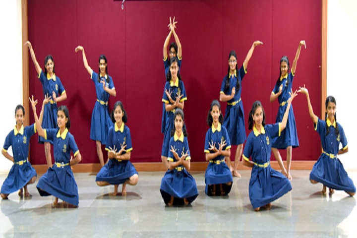 Saraswati High School-Events dance
