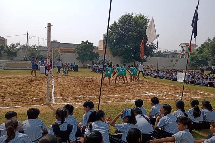 Saraswati High School-Sports kabbadi