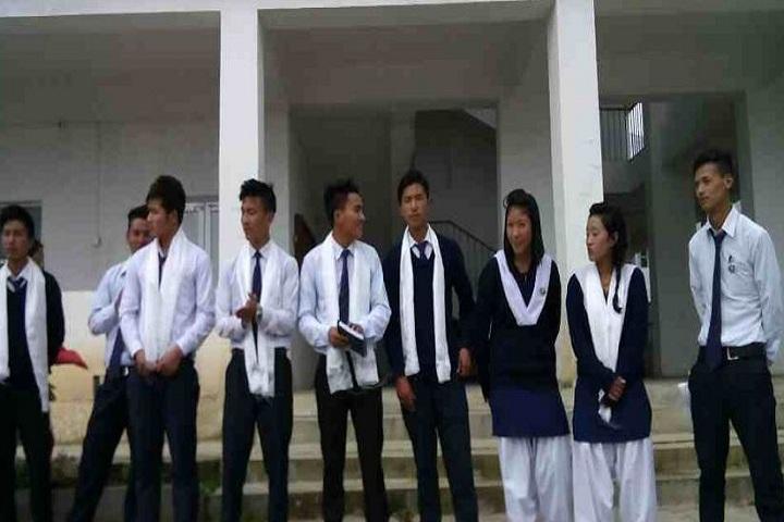 Govt  Town Sec  School tuwang-Students