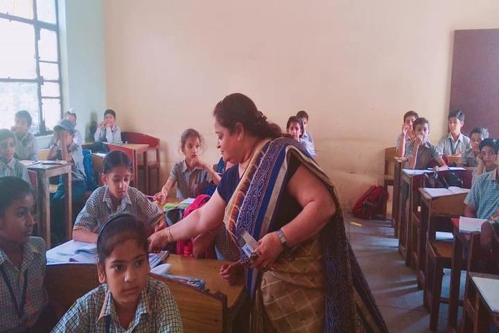 Sarv Vidya Public School-Classroom