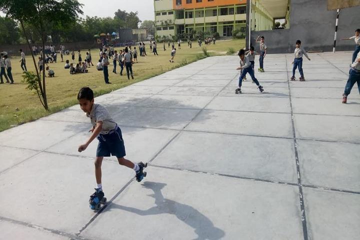 Sarv Vidya Public School-Skating Activity