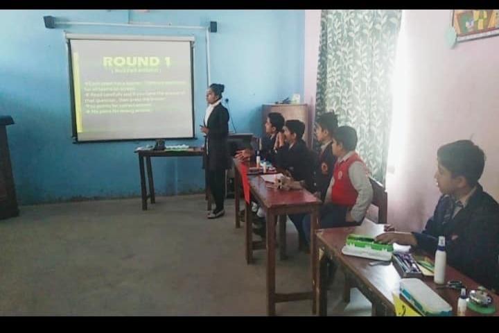 Sarv Vidya Public School-Smart Classroom