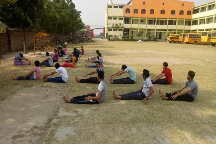 Sarv Vidya Public School-Yoga Activity