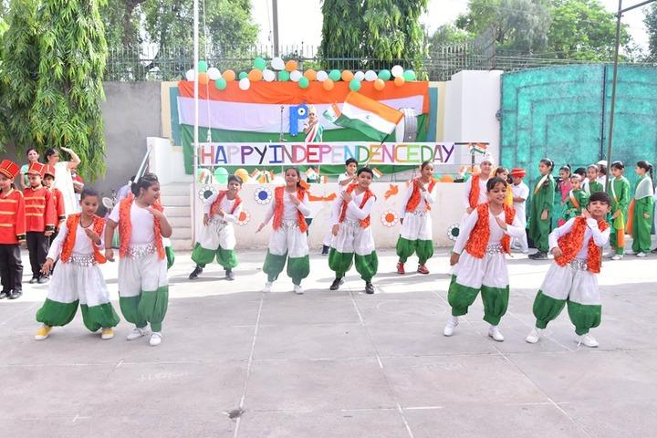 Satluj Public School-Independence day Celebration