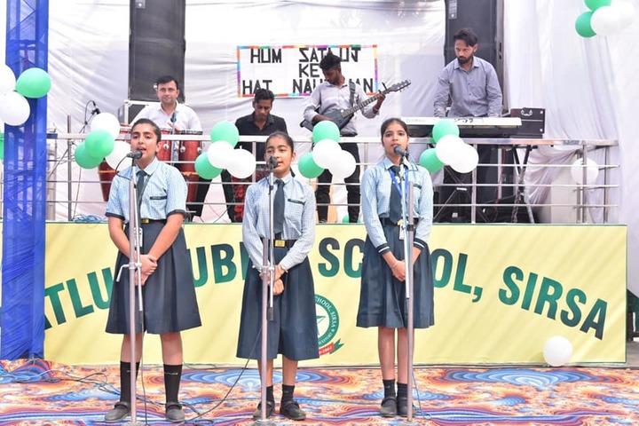 Satluj Public School-Music