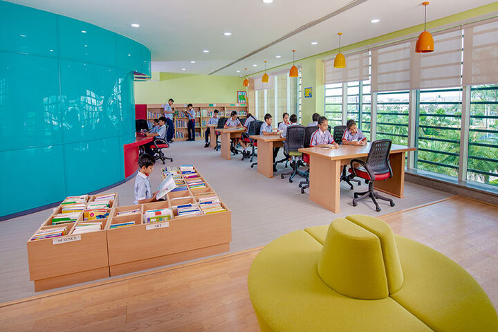 SCJ World Academy-Library