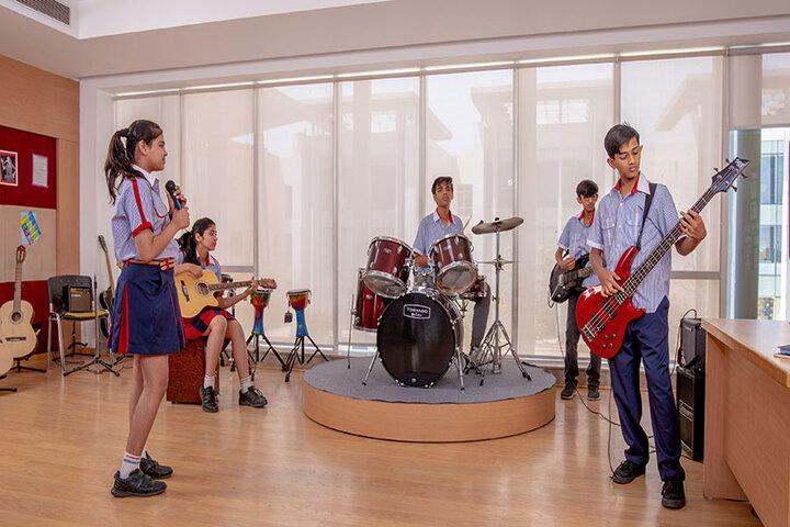 SCJ World Academy-Music Room