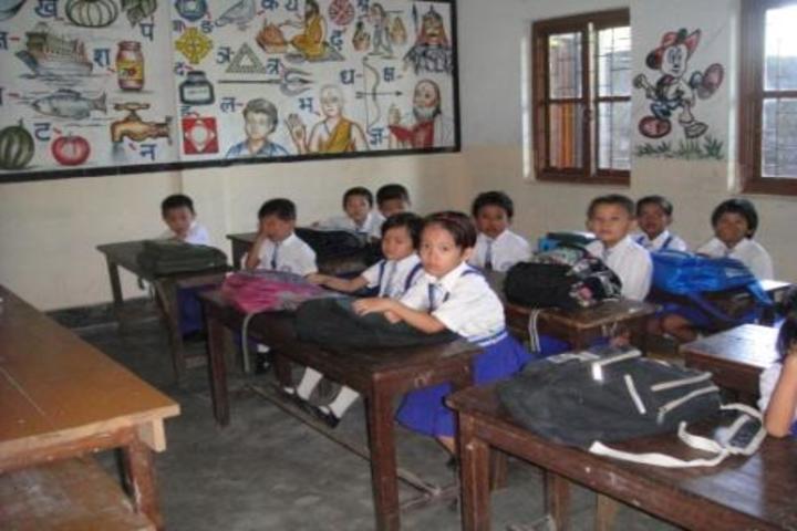 Green Mount School-Classroom
