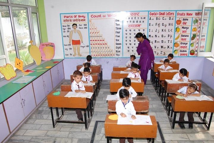 S D Senior Secondary School-Classroom