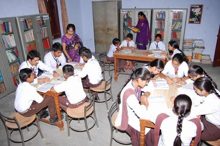 S D Senior Secondary School-Library