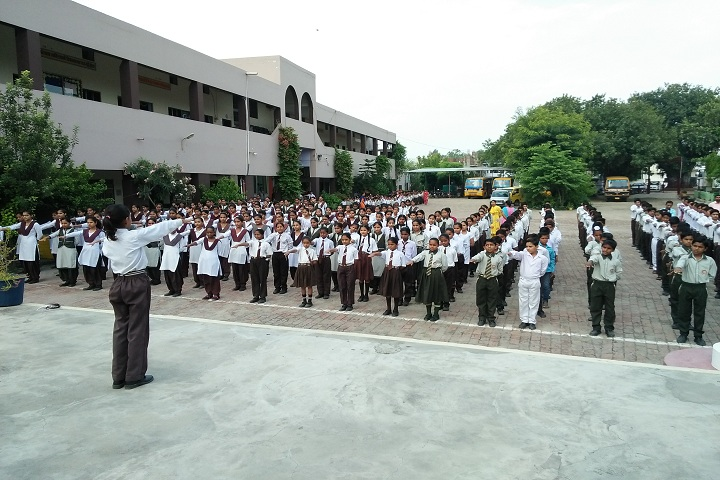 S D Senior Secondary School-Morning Assembly