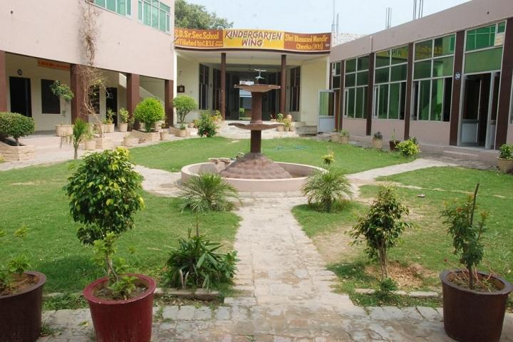 S D Senior Secondary School-School Building