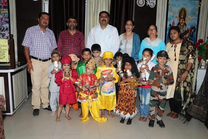 Seth Ramji Dass D A V Centenary Public School-Fancy Dress Event