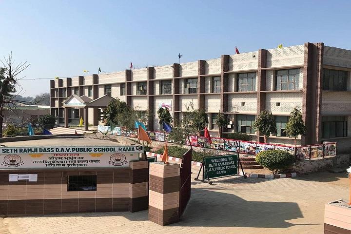 Seth Ramji Dass D A V Centenary Public School-School View