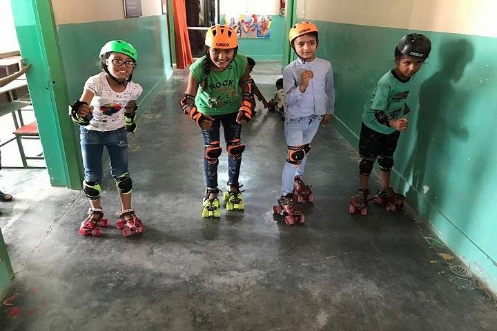Seth Ramji Dass D A V Centenary Public School-Skating