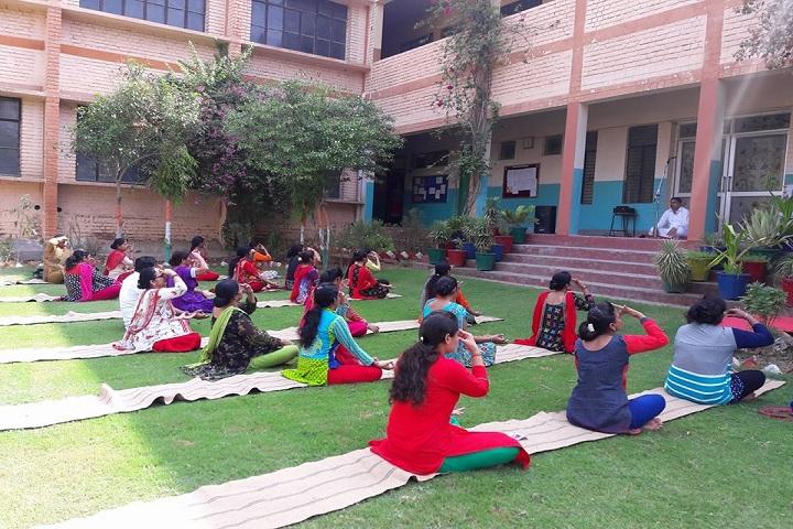 Seth Ramji Dass D A V Centenary Public School-Yoga