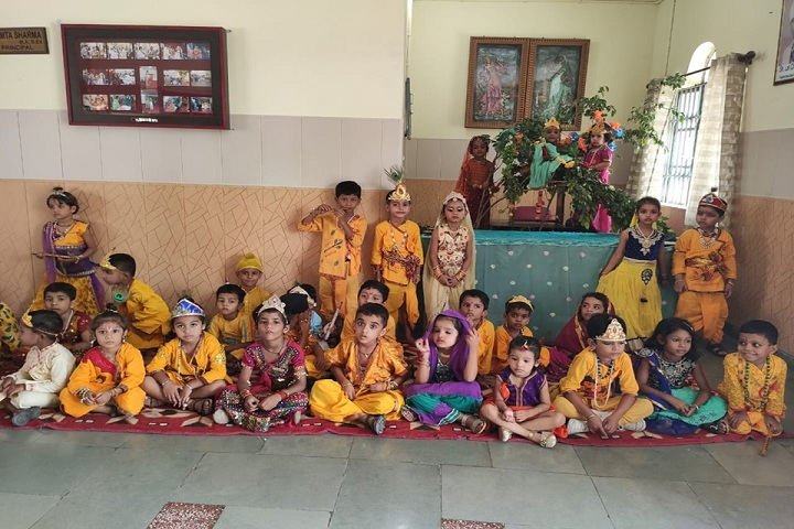 Sewa Samiti Little Angels Convent School-Krishnastami Celebrations