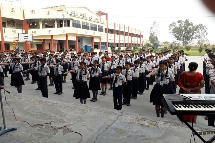 Sewa Samiti Little Angels Convent School-Morning Assembly