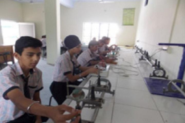 Sewa Samiti Little Angels Convent School-Physics Lab