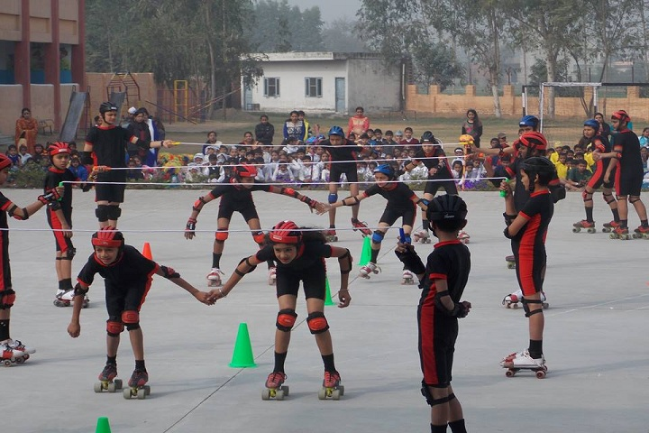 Sewa Samiti Little Angels Convent School-Skating Competition