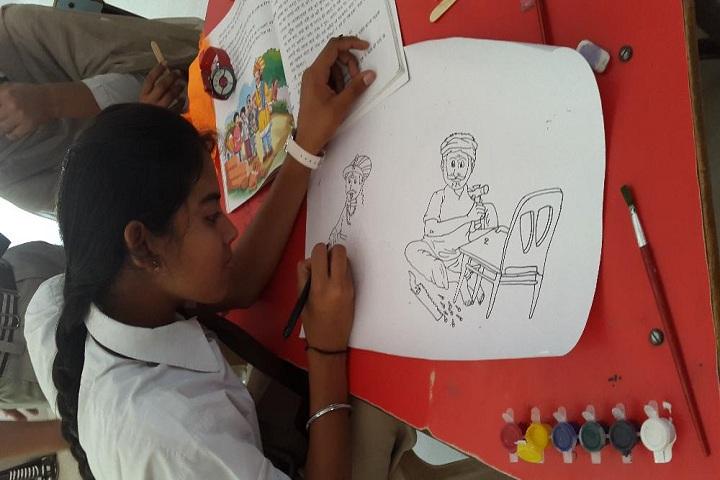 Shaheed Amar Singh Public School-Art and Craft