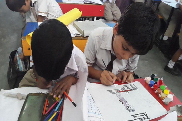 Shaheed Amar Singh Public School-Drawing Competition