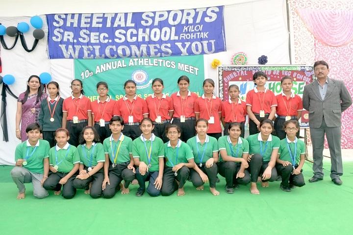 Sheetal Sports Senior Secondary School-Achivement